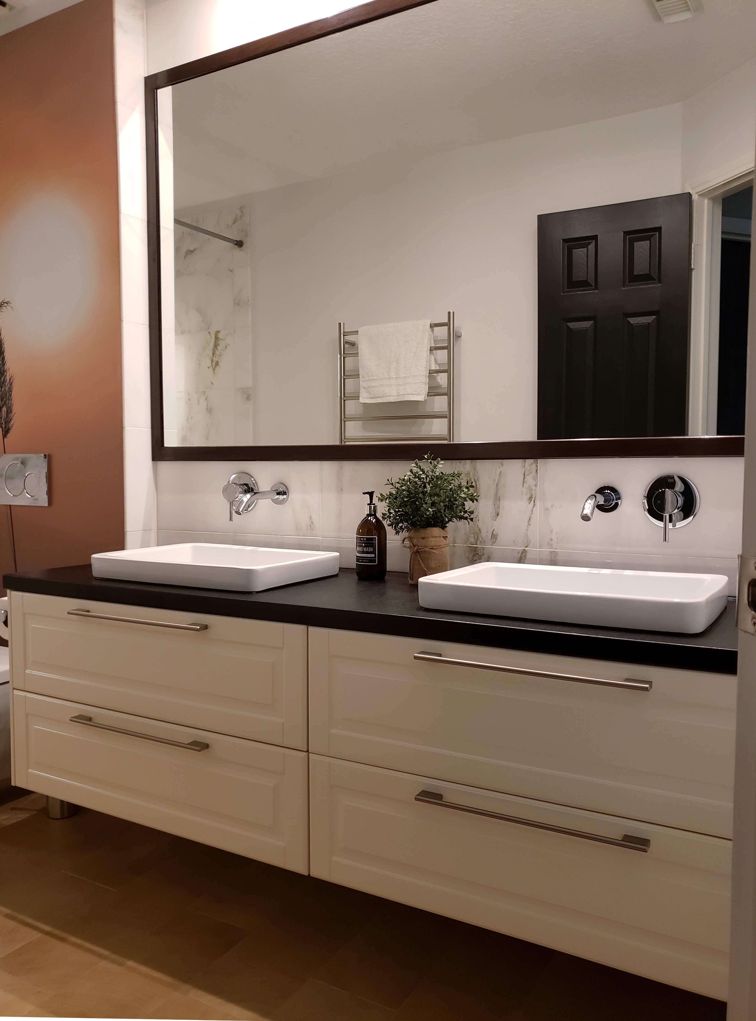 vanity bathroom remodeling, Katy