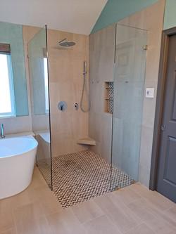 Bathroom Tiling and Plumbing
