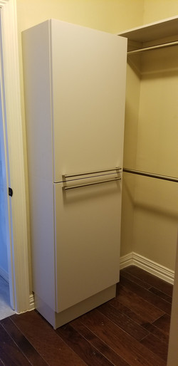 cabinets for closet remodeling