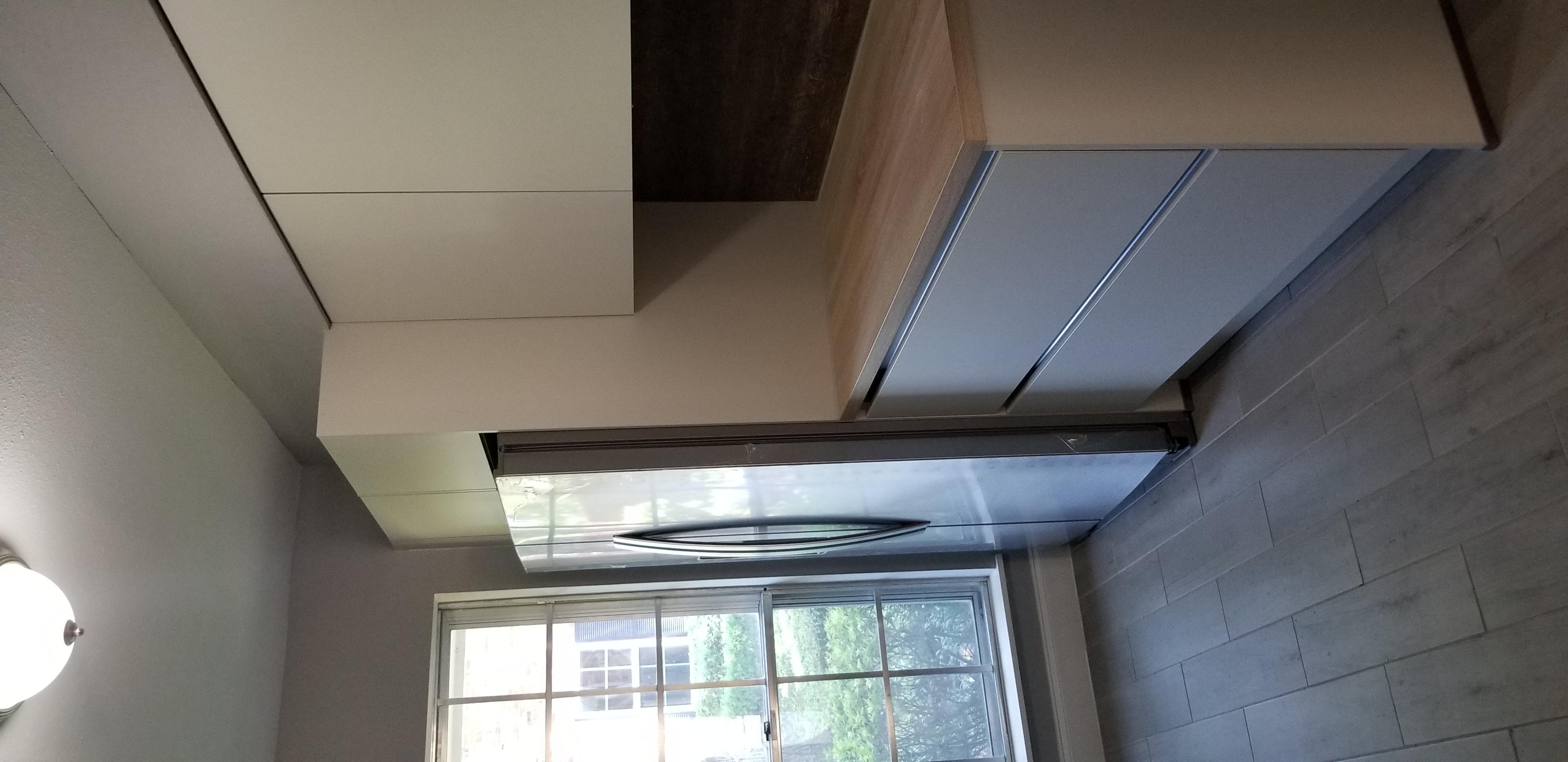 modern handleless kitchen cabinets