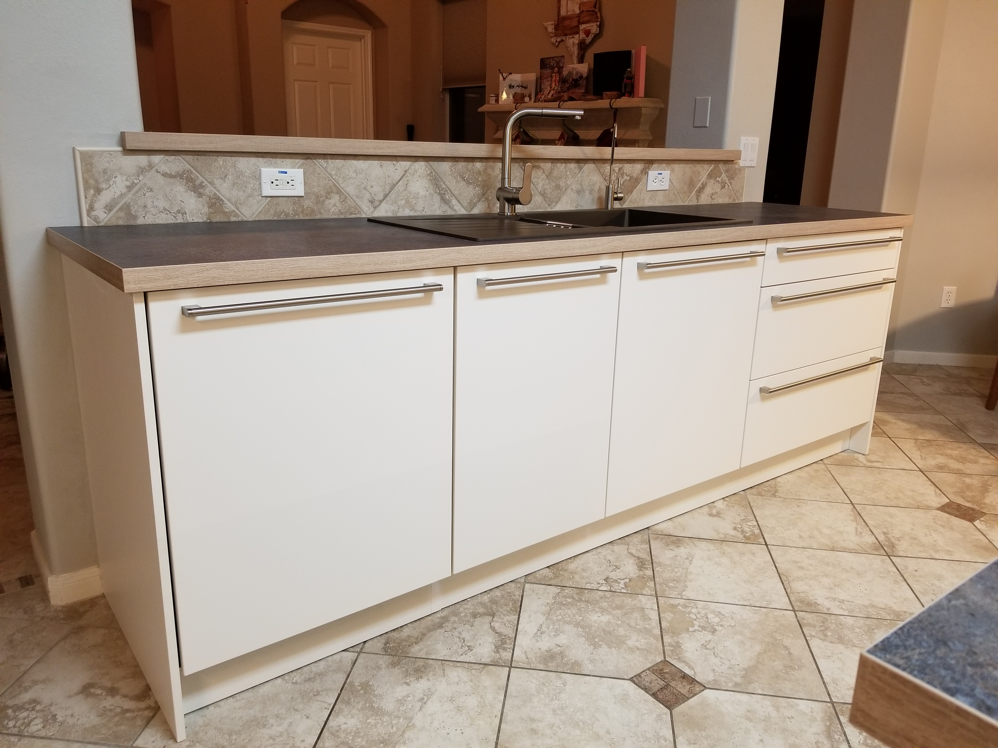 Contemporary sink cabinets for Tx
