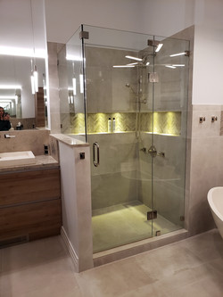 Shower Remodeling with Extra Features