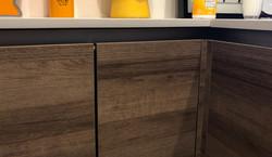 European handless kitchen cabinets