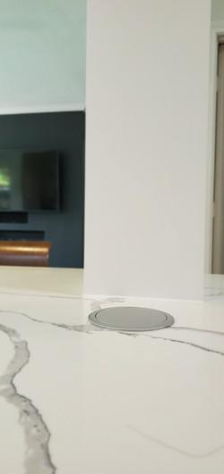 kitchen cabinets & modern outlets