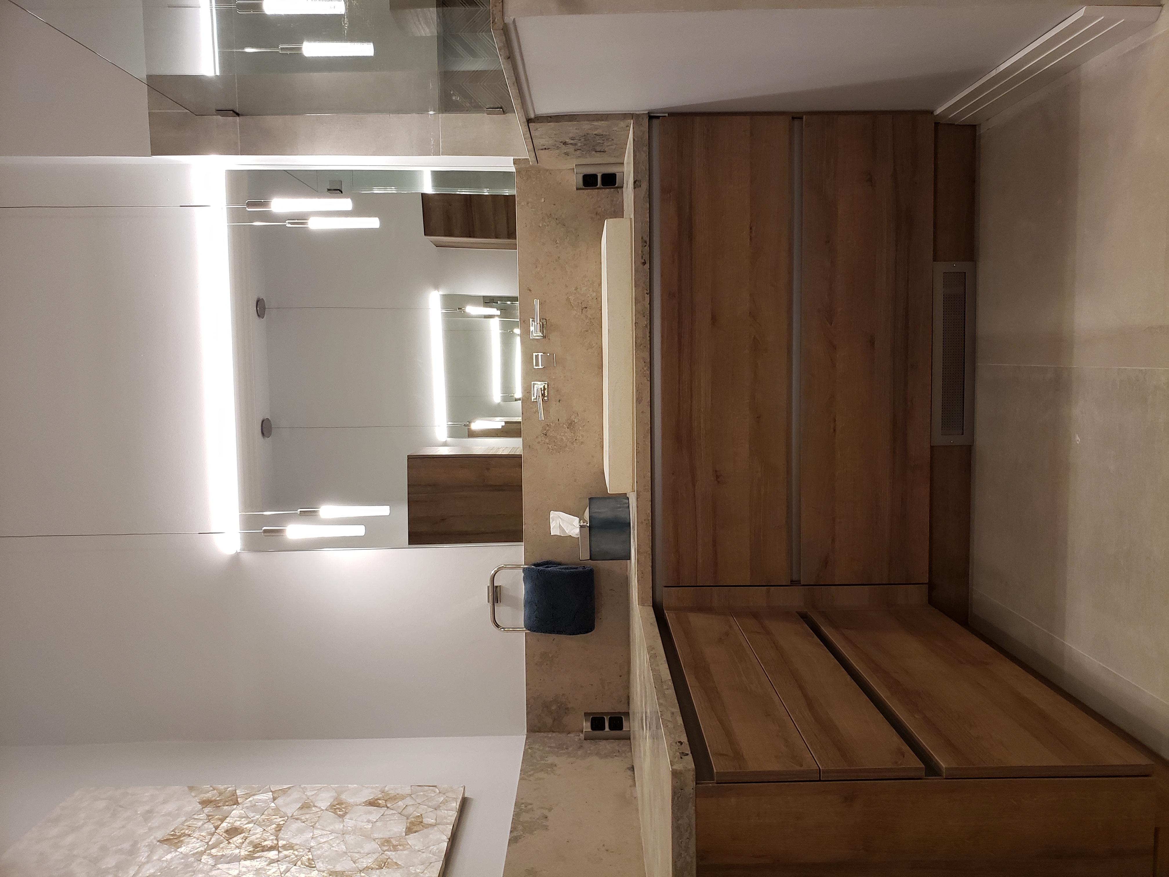 Handleless Bathroom Cabinets