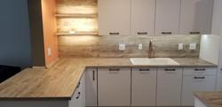 white matt kitchen cabinets