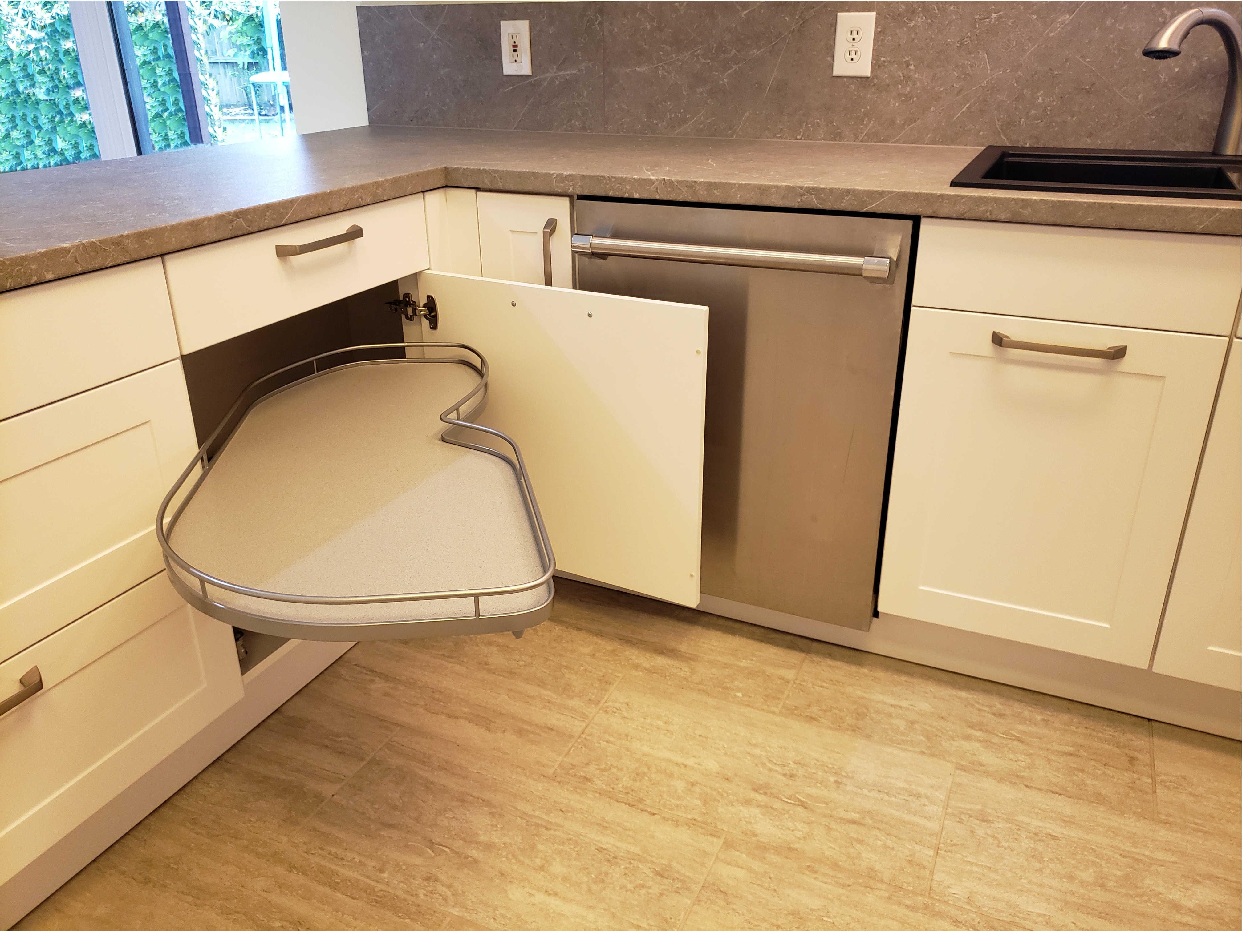 kitchen corner storage, Katy