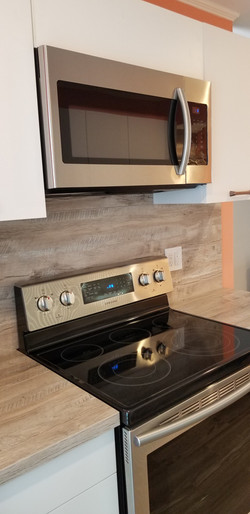 Modern matt kitchen, Katy/TX