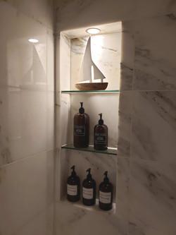 marble tiles for bathtub/shower
