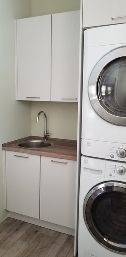 sink cabinets for laundry room, Katy
