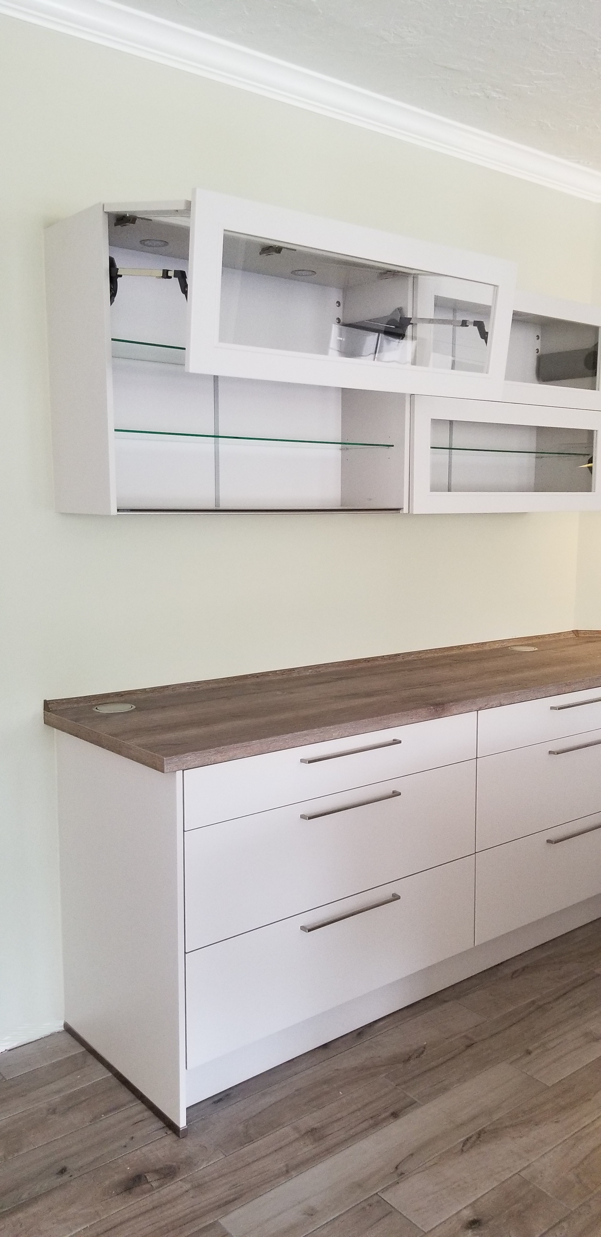 cabinets for kitchen /laundry room
