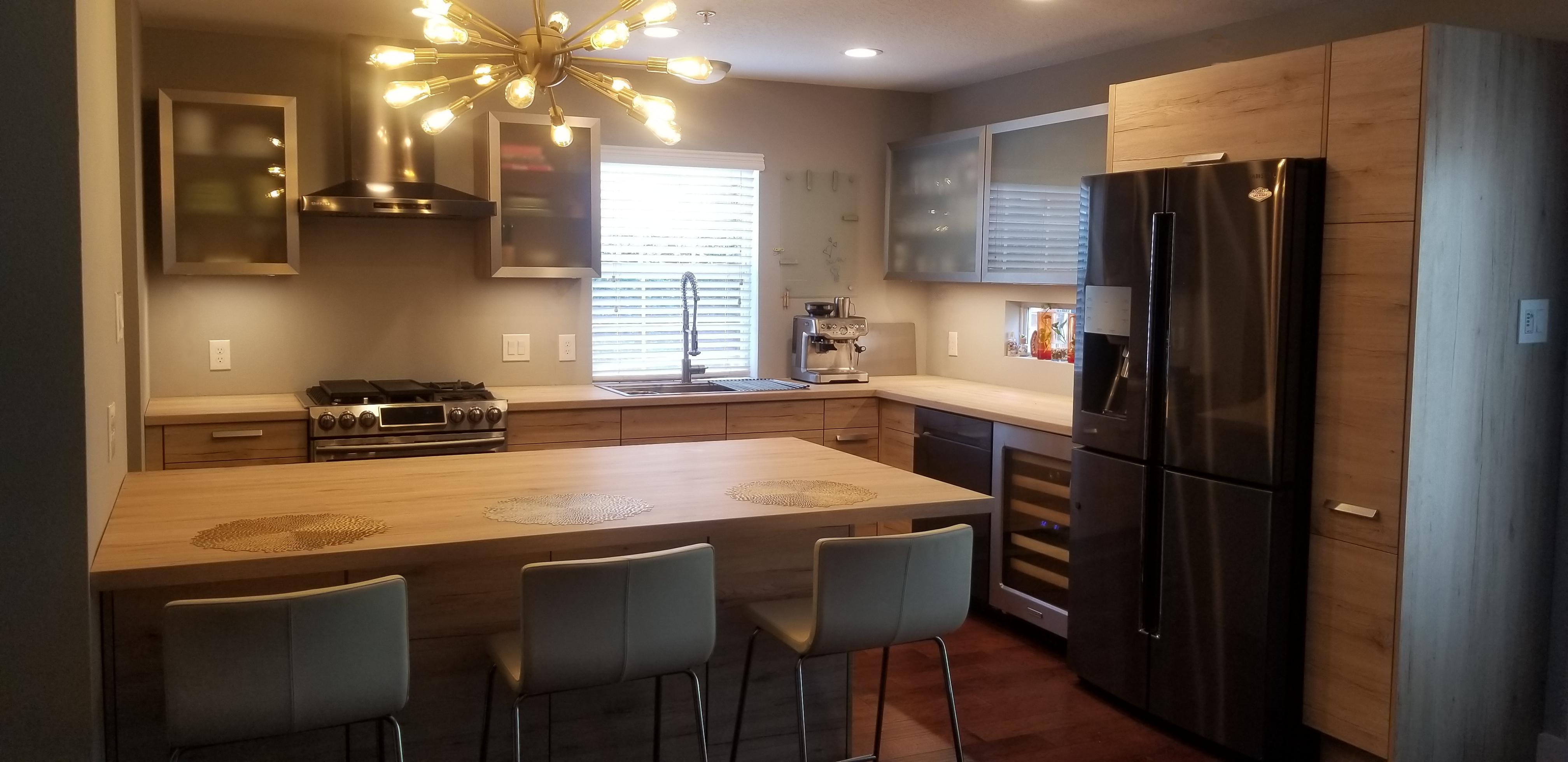 German kitchen, Houston