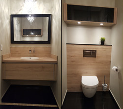 Cabinets For Bathrooms/ Wall Mount Toilets
