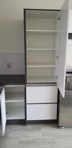 Modern kitchen cabinets in Katy