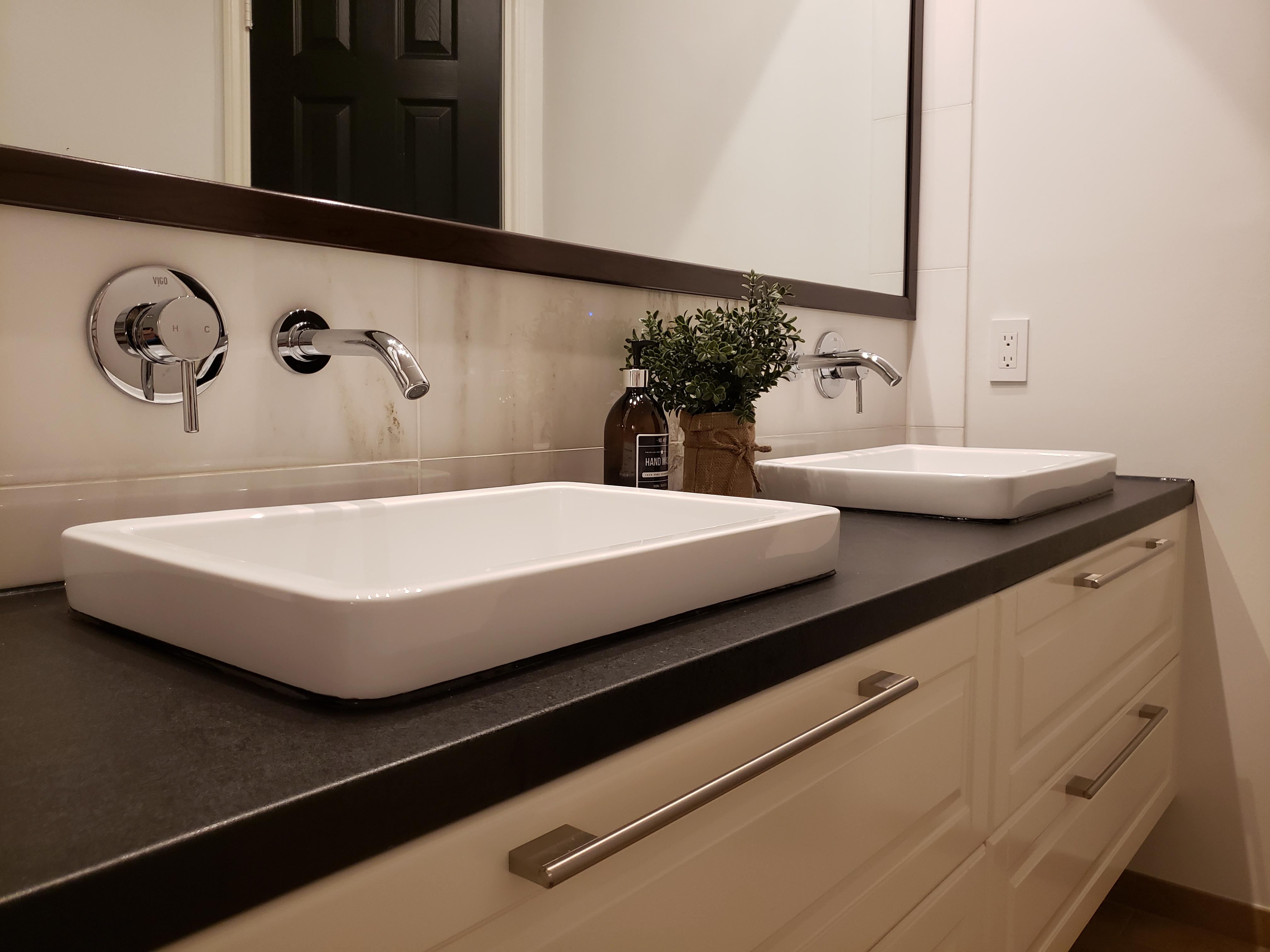 sink options for bathroom vanity