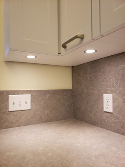 LED lights in kitchen cabinets