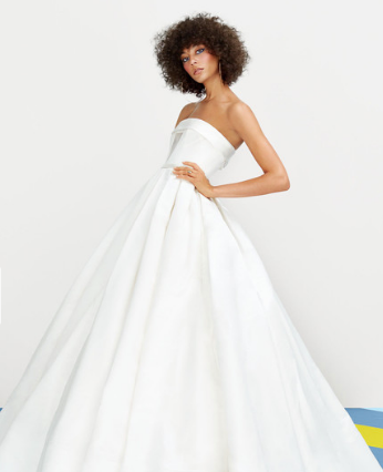 A Guide to Every Wedding Dress Silhouette (Martha Stewart Weddings)