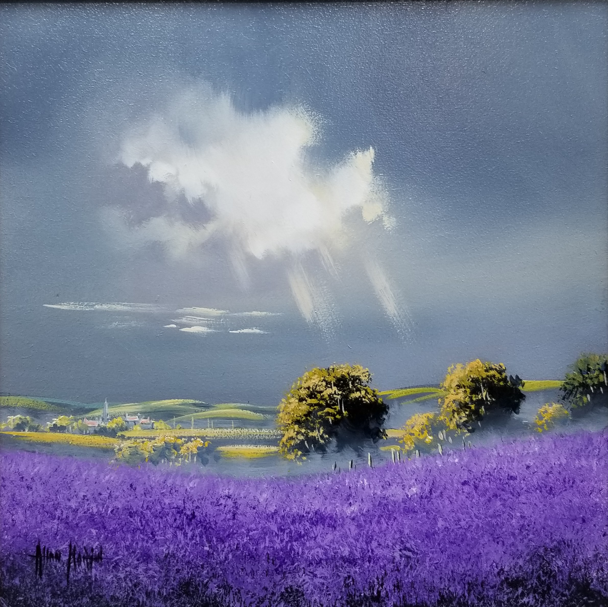 Purple Landscape