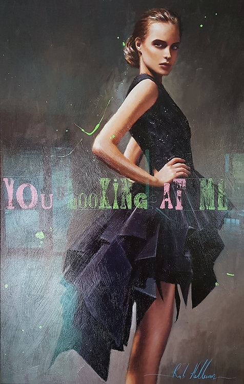 You Looking At Me? by Rob Hefferan