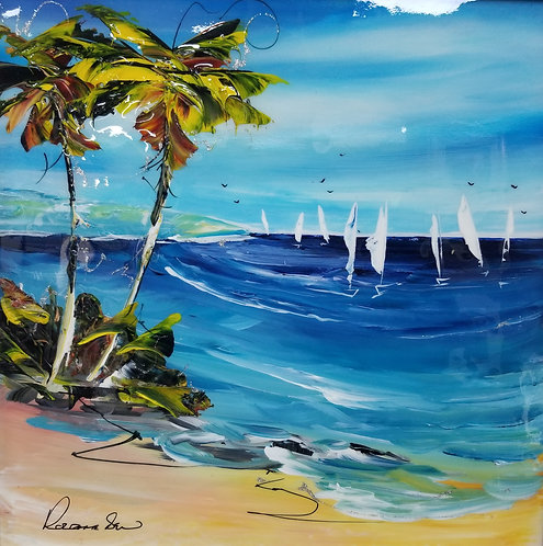 Palm Cove by Rozanne Bell