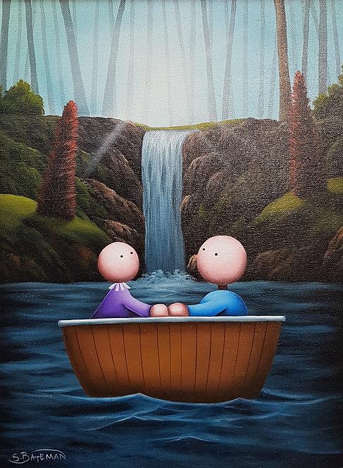 Two In A Boat by Scott Bateman