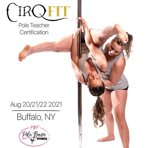 CirqFIT Pole Teacher Certification : Pole, Barre and Fitness Studio - Buffalo, N