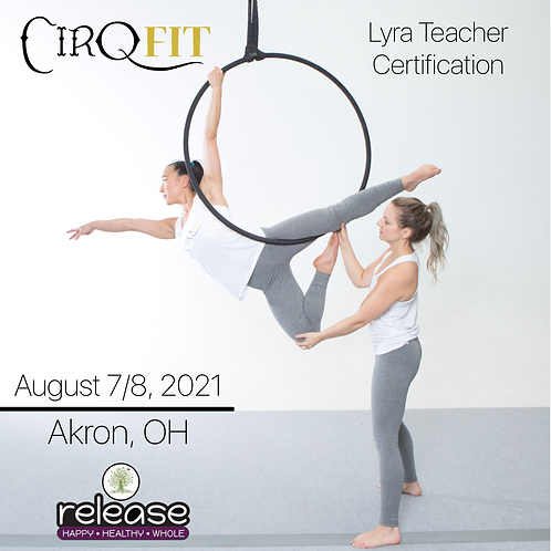 CirqFIT Lyra Teacher Certification: Release Yoga Studio - Akron, OH