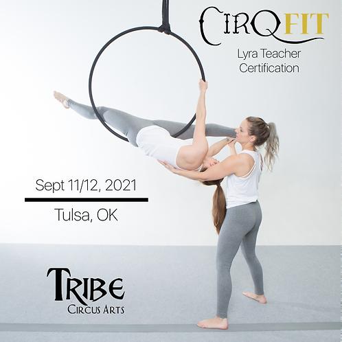 CirqFIT Lyra Teacher Certification: Tribe Circus Arts- Tulsa, OK