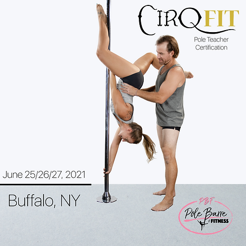 CirqFIT Pole Teacher Certification : Pole, Barre and Fitness Studio - Buffalo, N