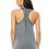 "Thumbnail: CirqFIT Grey Racerback ""Instructor"" Tank"