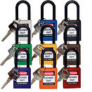 Nylon Safety Padlock Non-Conductive Nylo
