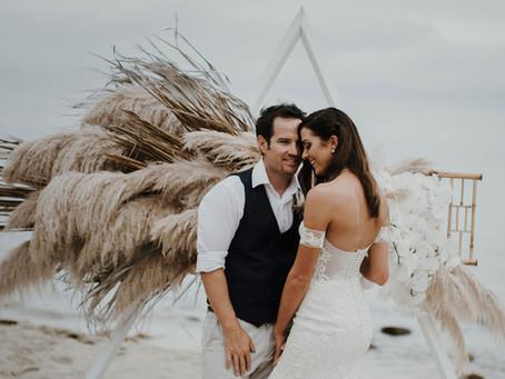 Real Wedding - Abi + Brent