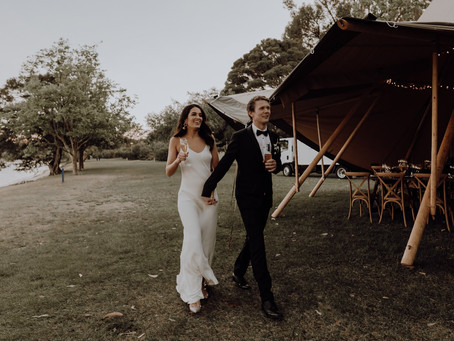 Real Wedding - Kate + Andy