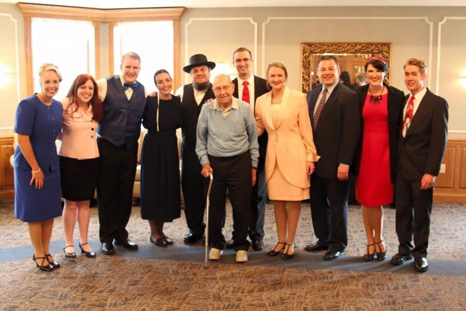 Cast of Josiah for President, 2016