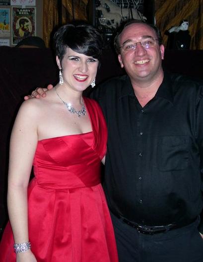 Jennifer with pianist, Daniel Weiser