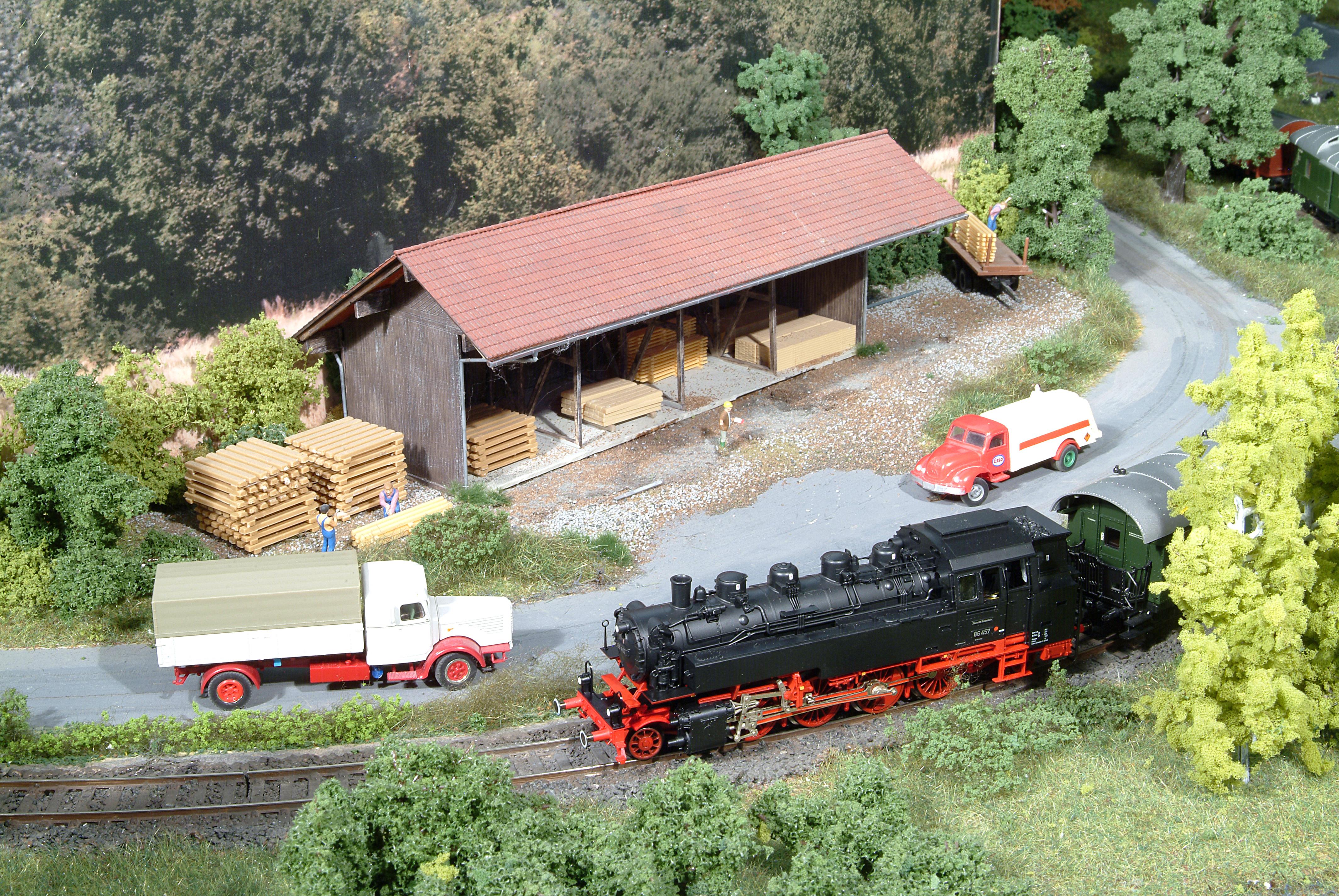 07 Holzlager