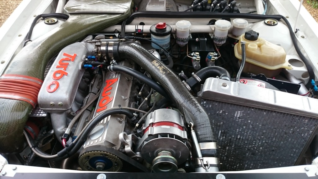 New Engine Bay