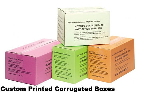 Custom Corrugated Shipping Boxes