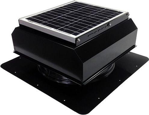 Attic Breeze Solar Attic Fan - Solar Att