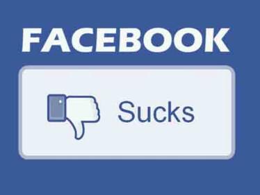 Why Facebook Sucks