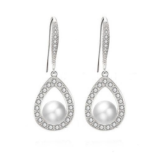 Mia Pearl Handle Earrings