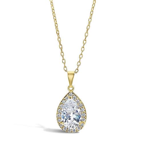 Candice Peardrop Earrings (Gold)