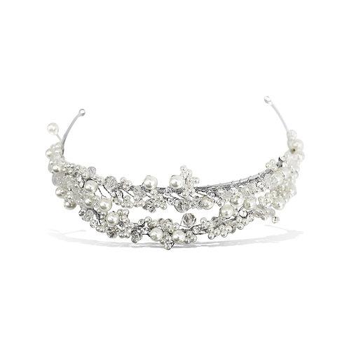 Gloria Double Pearl Headband