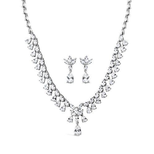 Emma Multi-Teardrop Jewellery Set