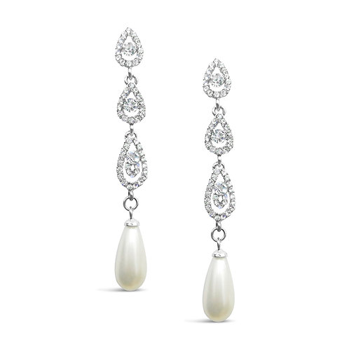 Bethany Long and Sparkle Drop Earrings