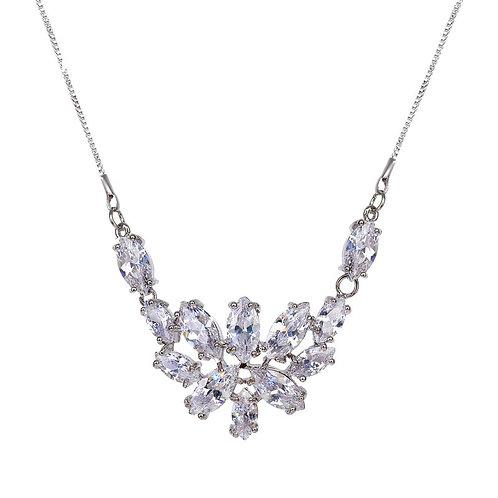 Lilly Oval Sparkle Necklace