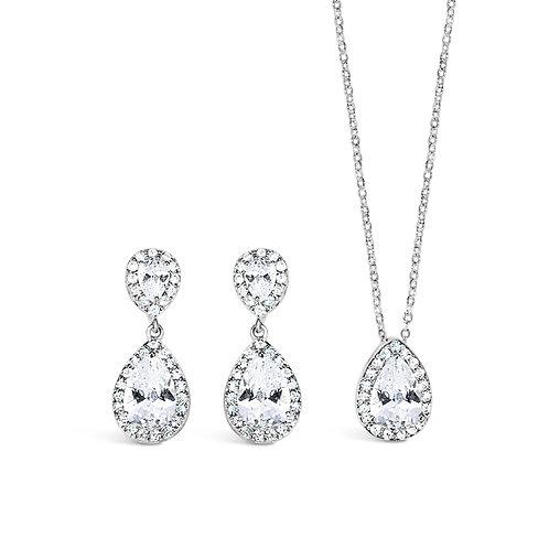 Alison Crystal Encrusted Jewellery Set