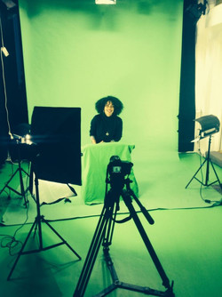 Christine in th maVISION green room