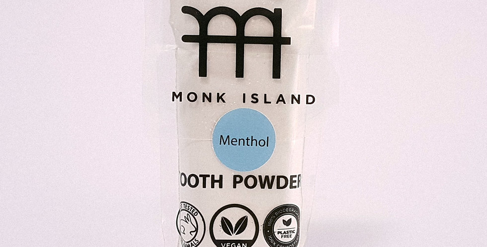 Monk Island tooth-powder with menthol 35g