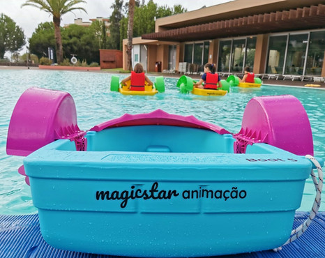 MagicStar - Kids Hand Paddle Boat.